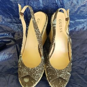 Guess Wedges size 8.5
